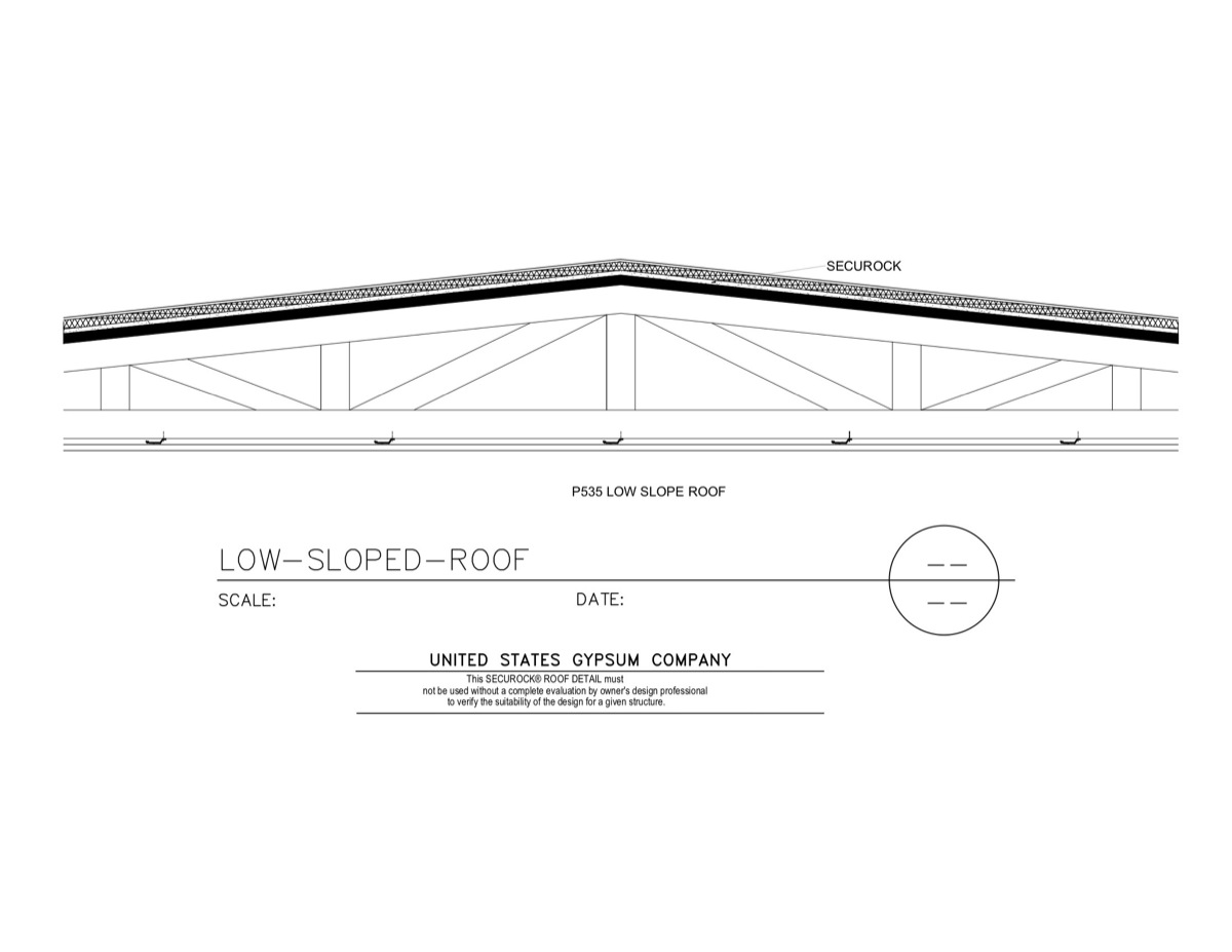 Usg Design Studio Low Sloped Roof Download Details